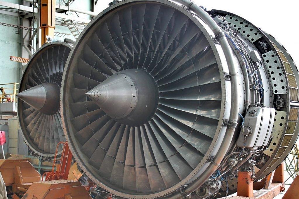 прием газотурбинных авиадвигателей